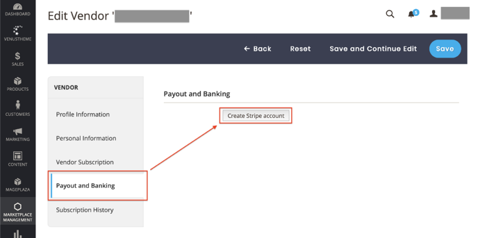 Create Stripe Account 3