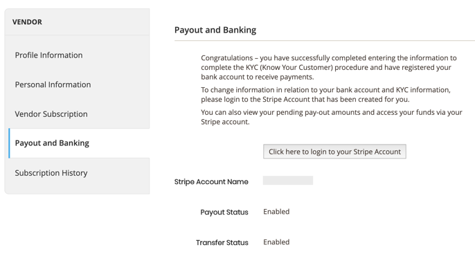 Create Stripe Account 5